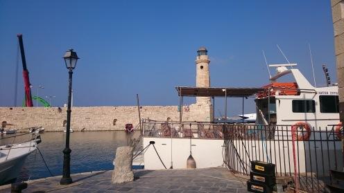 Le phare du port vénitien